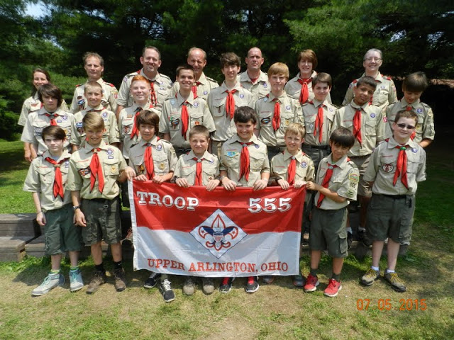 Seven Ranges Summer Camp Crew 2015